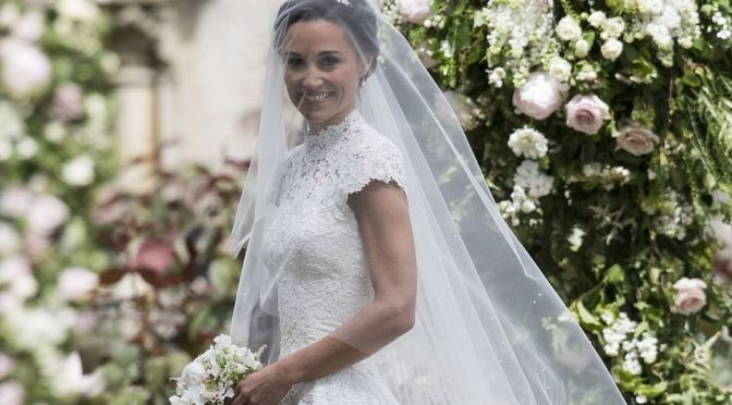 Pippa Middleton Marries Fiance\Hedge Fund Manager James Mathews In England