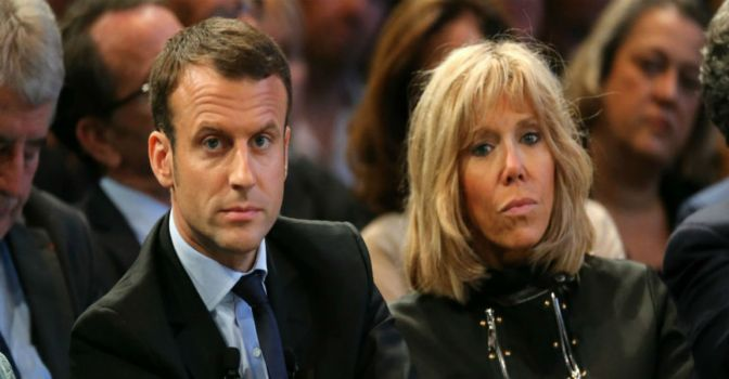France Elects Youngest President In History, First Lady Is Teacher He Had An Affair With As A Teenager