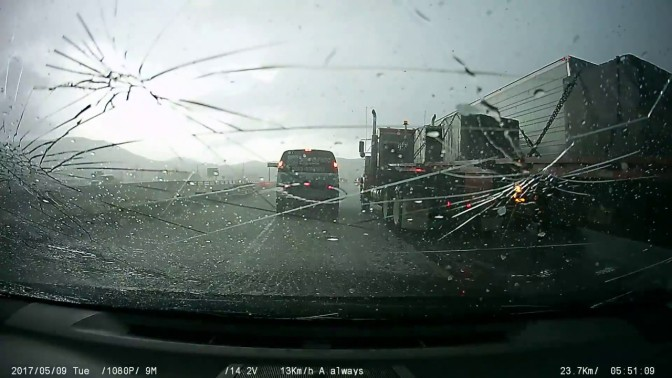 Watch The Video Of The Colorado Family Stuck In Their Car During Terrifying Hailstorm