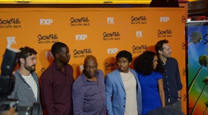 John Singleton Previews Snowfall With Cast In Atlanta
