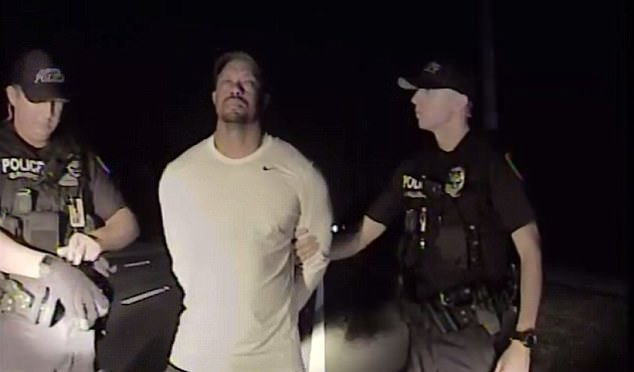 Field Sobriety Test Shows A Barefoot, Impaired Woods As Tiger Apparently Damaged His Vehicle As Well After 'Bad Reaction' To Mixture Of Pills