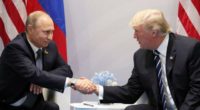 Laughable: Donald Trump Tweets Plans To Create An Impenetrable Cyber Security Unit WITH Russia To Protect US Elections From Hacking