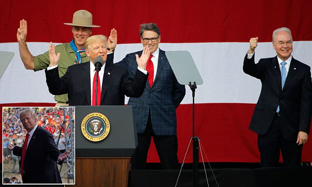 Scouts Honor: Trump Vows To Fire Price (During Boy Scout's Speech) If Healthcare Bill Fails