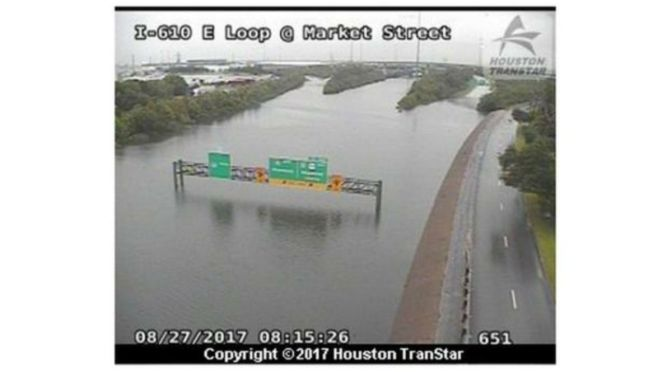 As Texas Suffers From Catastrophic Flooding, Did You Know That Trump Revoked Former President Obama's Executive Order Involving Flood Protection Two Weeks Ago?