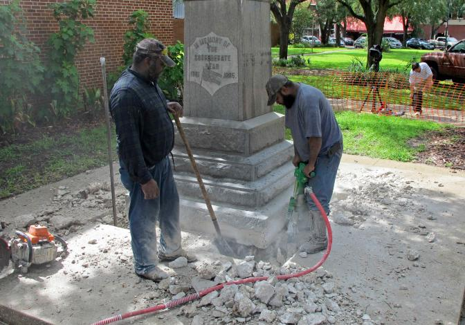 For Better or Worse? We'll Take For Better In This Case, Gainesville, FL Removes Confederate Statue, Jacksonville Could Be Next