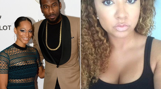 Married Amar'e Stoudemire's Side Chick Suing For More Child Support