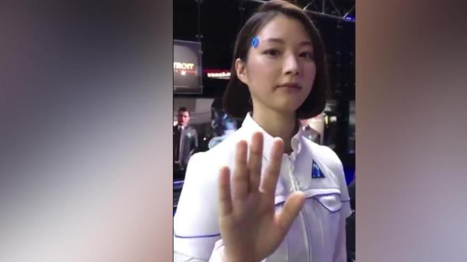 {Video} Detroit Become Human: Lifelike Android At Tokyo Gaming Conference Is Creepy