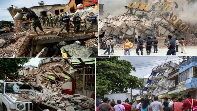Death Toll Rises To 318 In Mexico Earthquake As Two More Hit