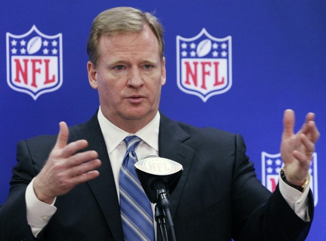 Roger Goodell Responds To Donald Trumps Comments About NFL Players That Take A Knee