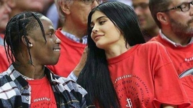 Oh Boy or Girl! Kylie Jenner and Travis Scott Expecting, But Tyga Says 'That's My Kid'