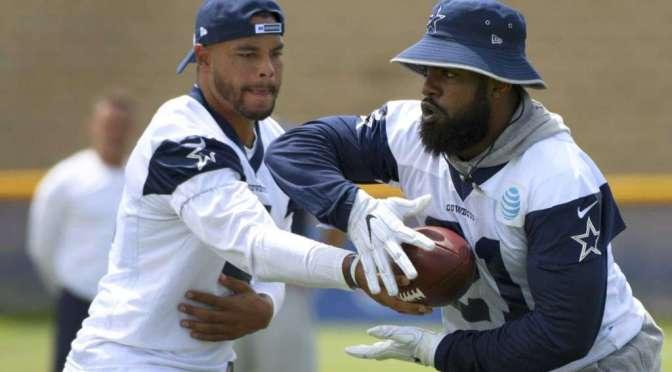 Cowboys' Jones Says  Ezekiel Elliott Paying For NFL's Past Mistakes