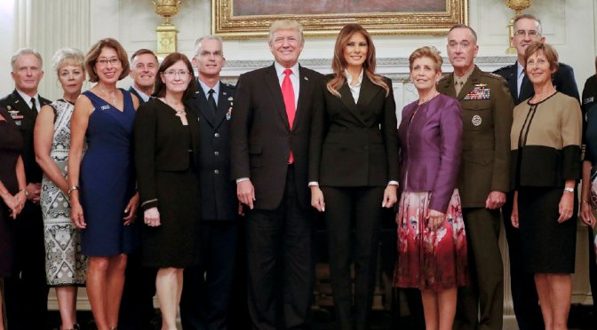 Trump Tells Reporters 'You'll Find Out' In Reference To What He Meant By 'The Calm Before The Storm' During Photo With Military Leaders