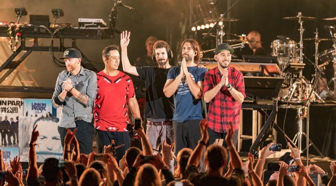 Linkin Park Plays First Show Since Death Of Lead Singer