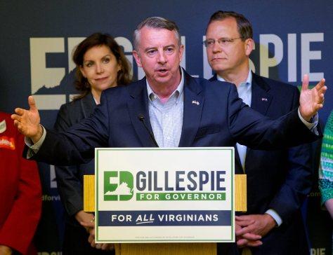 Ed Gillespie, Jill Vogel, John Adams