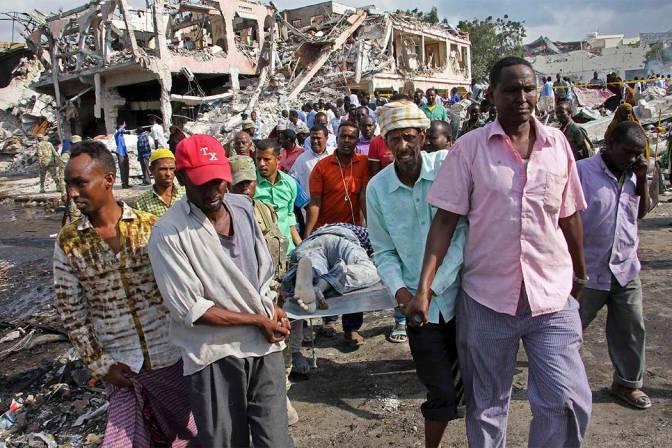 Death Toll Past 275 In Somalia Bombings