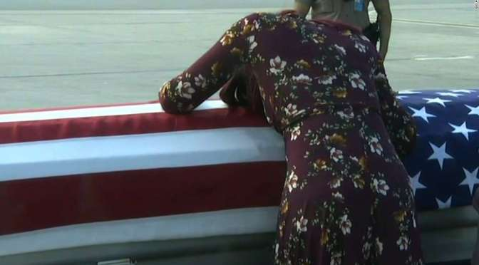 An Army Wife's Grief, Myesha Johnson Photo Melts Hearts Around The World