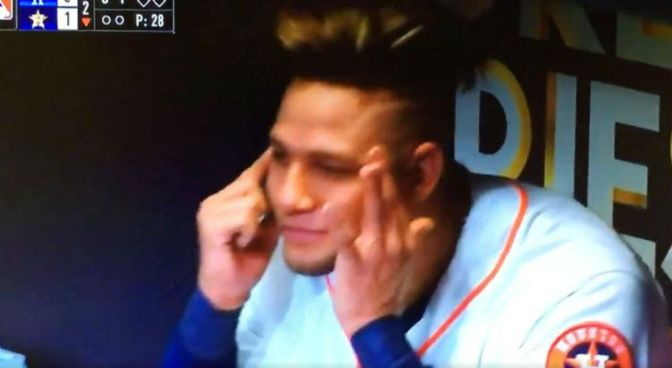 Yuli Gurriel Avoids World Series Ban But Gets Suspended For 5 Games For Racist Gesture
