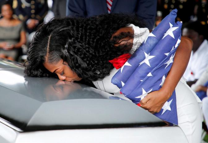 Soldier Slain In Niger Is Laid To Rest