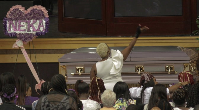 Kenneka Jenkins Laid To Rest, Death Still A Mystery