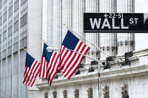 New York Stock Exchange, Wall street, Manhattan, New York, USA