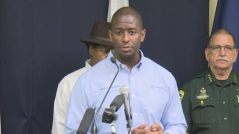 Gillum+Storm+Press+Conf