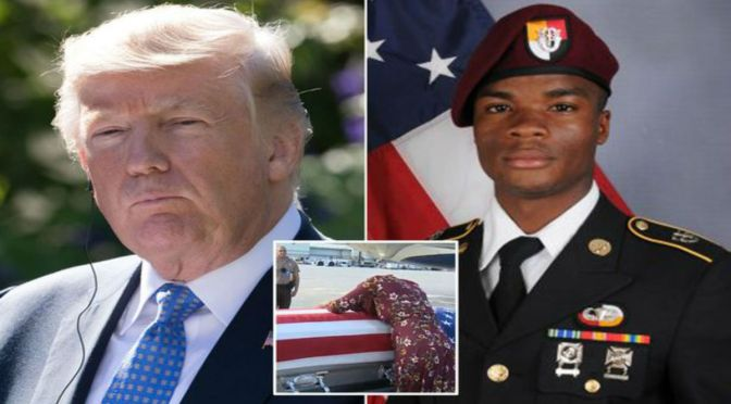 Hero Green Beret Sgt. La David Johnson Had Escaped Kill Zone But Went Back To Help Comrades After Call For Unplanned Mission And NO Backup