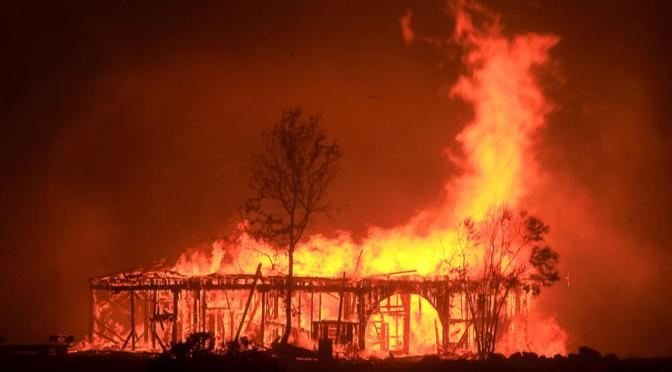 40 Reported Dead In Northern California Wildfires