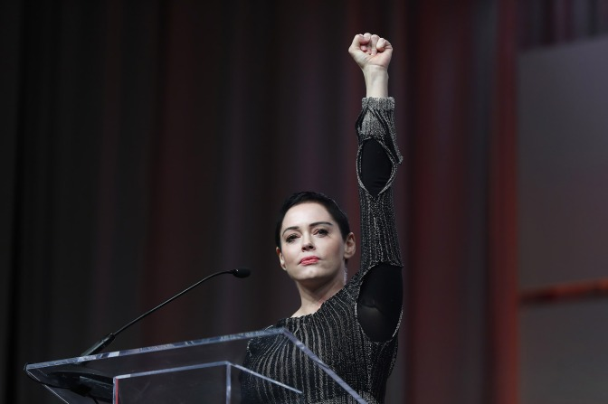 Police Issue Warrant For Harvey Weinstein Accuser Rose McGowan