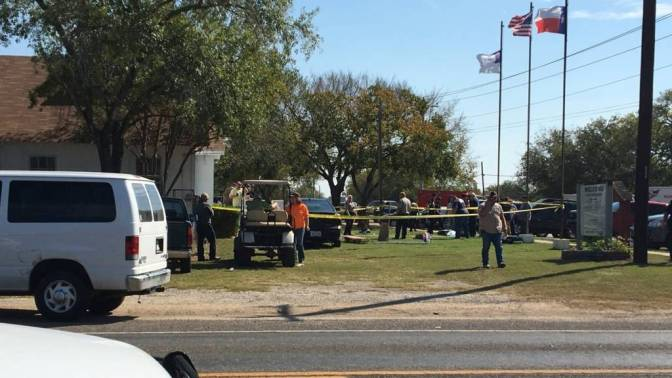 26 Dead In Texas Church Shooting
