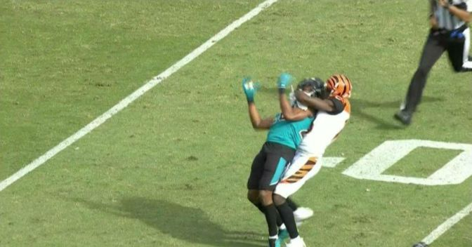Jaguars' Ramsey, Bengals' Green Ejected For Altercation