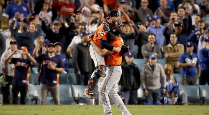 Astros Win First World Series Title And Correa Proposes To Girlfriend