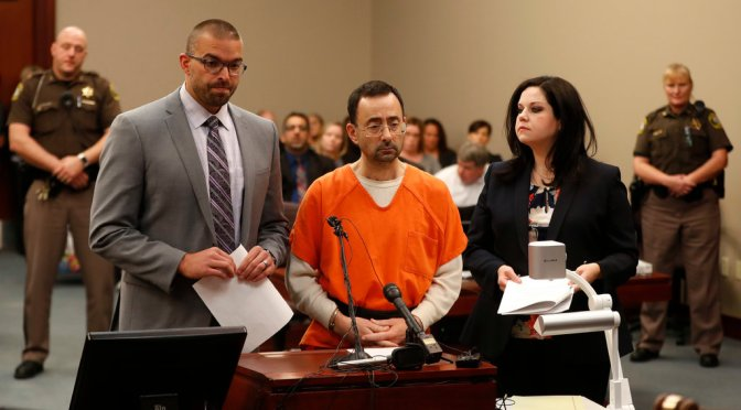 USA Gymnastics Sports Doctor Pleads Guilty To Sex Assault