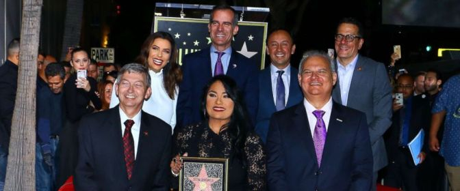 Selena Honored With Star On Hollywood Walk Of Fame