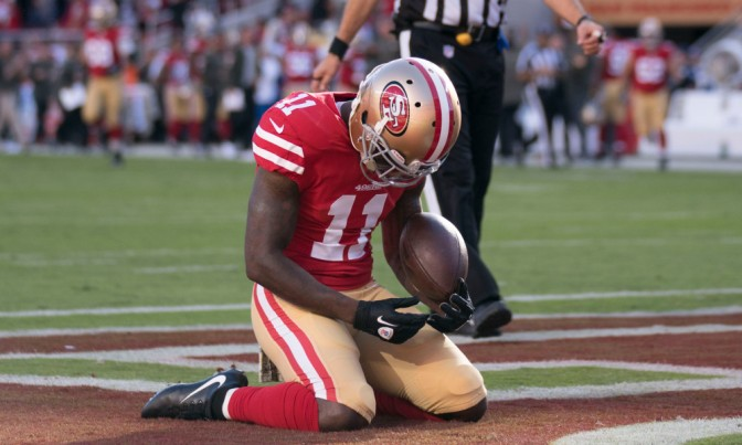 Hours After Losing His Son, Marquise Goodwin Helps Lead 49ers To First Victory Of The Season