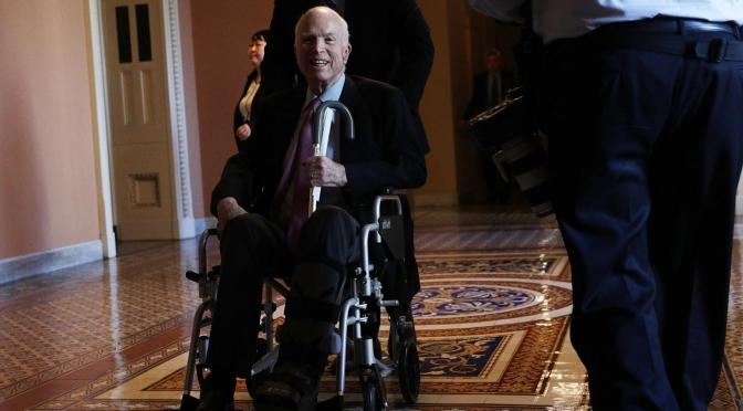 Senator McCain Returning To Arizona, Will Miss Senate Vote On Tax Reform