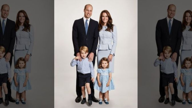 The Duke and Duchess Release Family Christmas Card