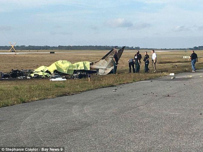 4 Dead In Plane Crash In Polk County, FL