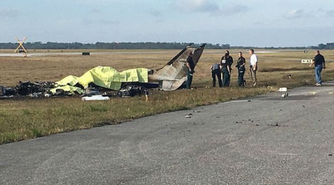 4 Dead In Plane Crash In Polk County, FL