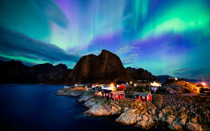 'Tis The Season To See Norway's Northern Lights