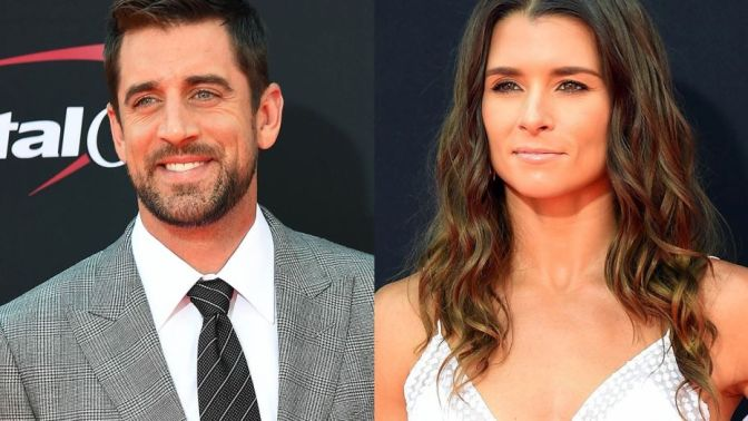 Danica Patrick Confirms Romance With Aaron Rodgers