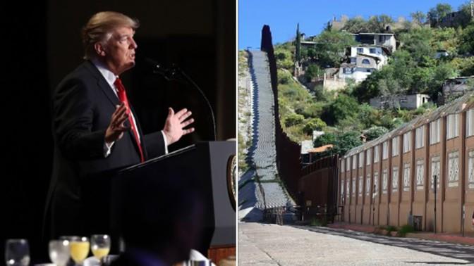 Trump Wants $18 Billion For Border Wall