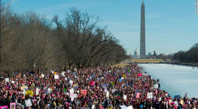 Activists Gather For Women's Marches Across U.S.