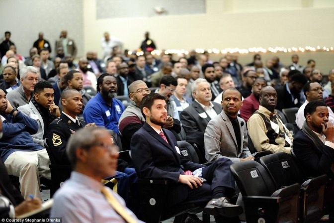 They Asked For 50 And 600 Showed Up! Beautiful Group Of Men Stand In For Absentee Fathers