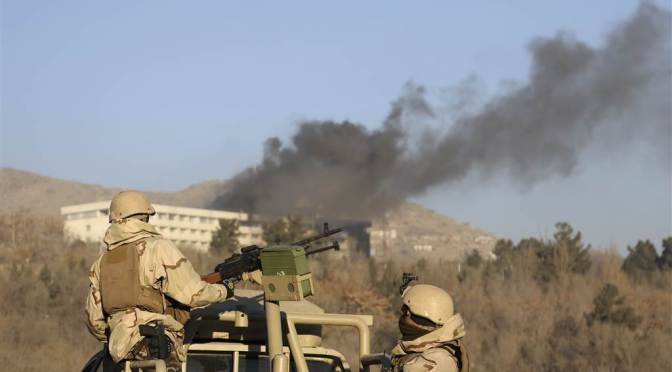 Report: Attackers Dead In Kabul Hotel Attack