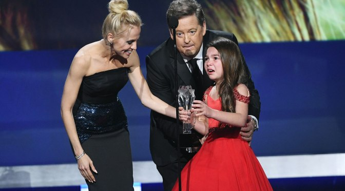 How Cute Is This Kid! A Tearful Brooklynn Prince Accepts Best Young Performer At The Critics' Show Awards