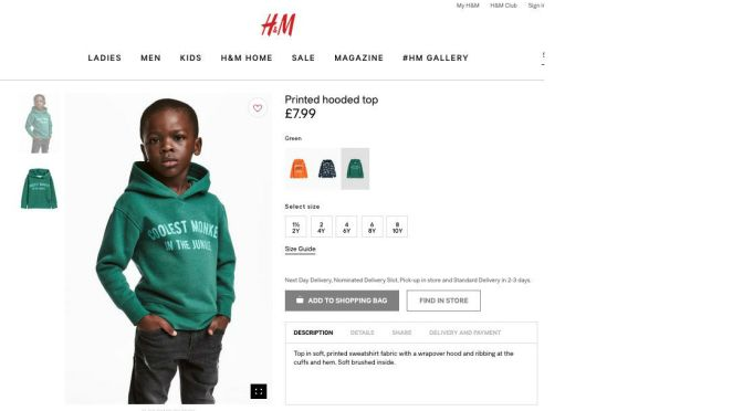 The Weeknd Severs Ties With H&M Over Racist Ad