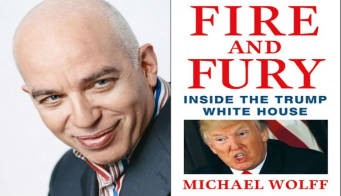 Fire And Fury Author Says He Left Out Even More Damning Material That's Legitimately 25th Amendment Level Stuff