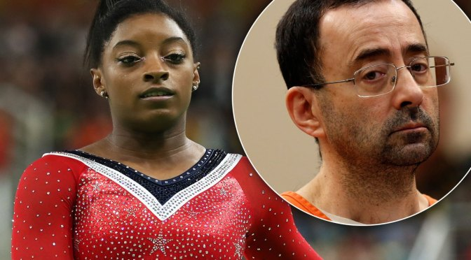Simon Biles Breaks Silence Hits #MeToo