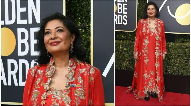 Times Up! Only Three People Didn't Participate In Blackout At Golden Globes, But HFP President Meher Tetna Had A Good Reason