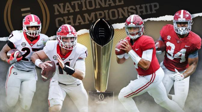 Georgia, Alabama Ready To Clash In CFB National Championship While NAACP Plans To Clash With Trump